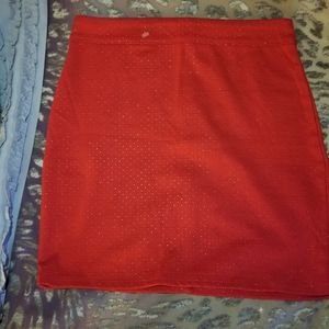Forever21 Red pencil skirt! Size s!